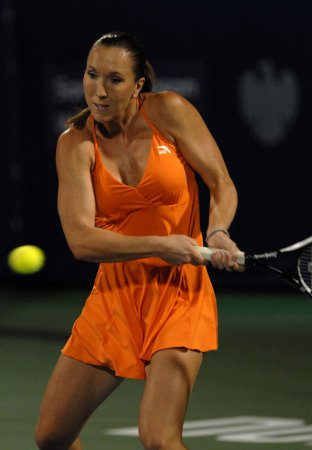 Jankovic sharp in second-round win