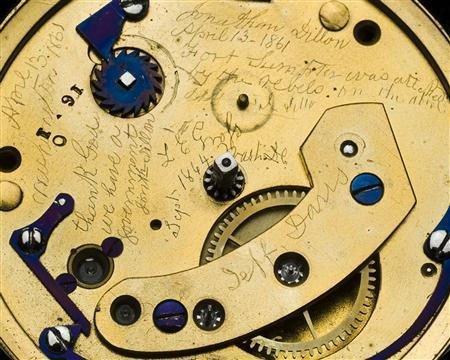 Lincoln watch contains secret message
