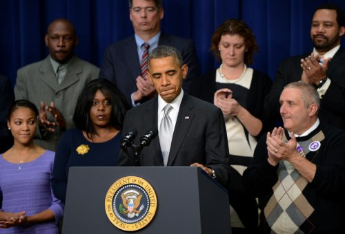 Obama: 'We're not going back' on healthcare reform