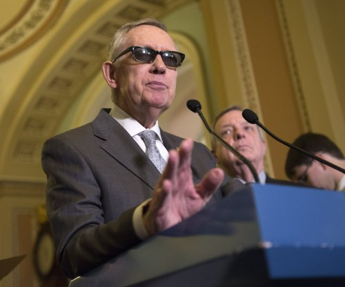 Senate Minority Leader Harry Reid announces Iran deal support