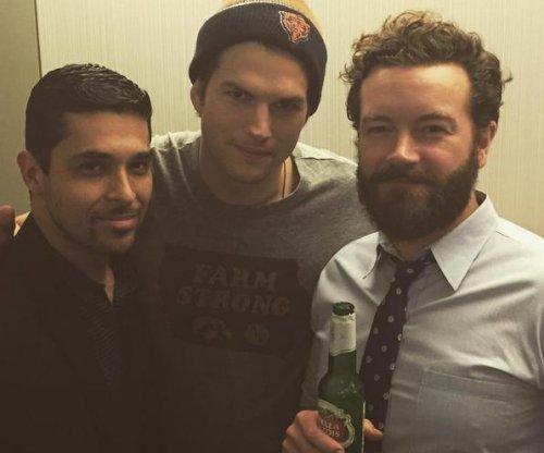 Ashton Kutcher reunites with 'That '70s Show' co-stars