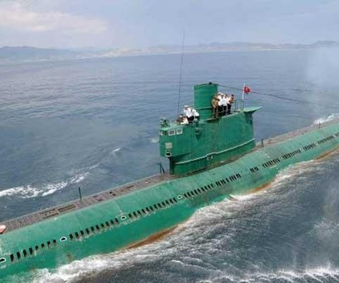 North Korea building bigger submarine pens: Report