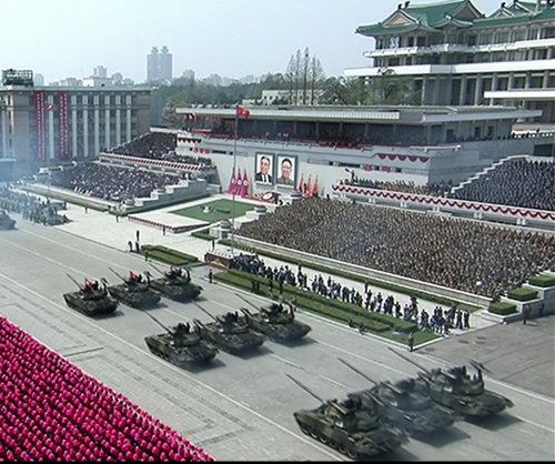 South Korean conservatives call for North Korea to suspend military parade