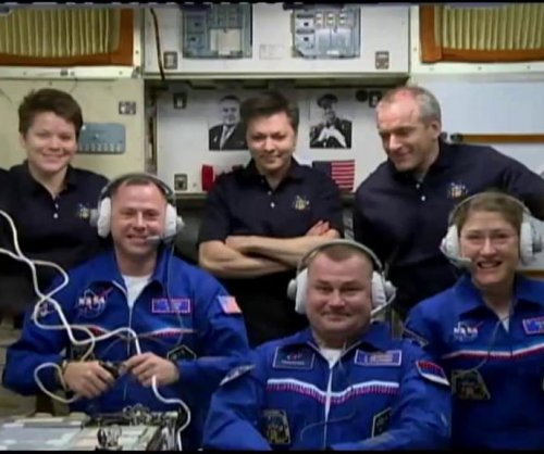 Three new astronauts arrive at space station