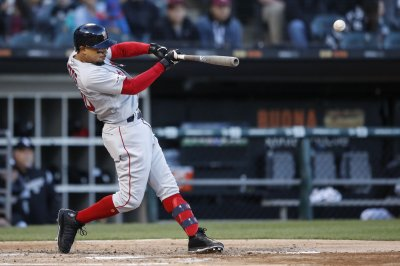 Red Sox' Mookie Betts homers three times after Make-A-Wish request