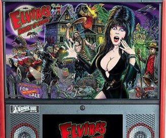 'Elvira's House of Horrors' pinball machine released by Stern