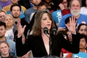 Marianne Williamson endorses Bernie Sanders for president