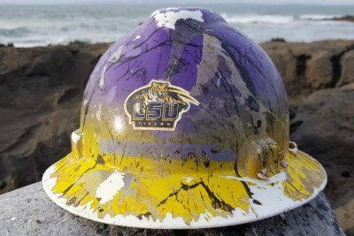 Hard hat dropped into Mississippi River found 5 years later in Ireland