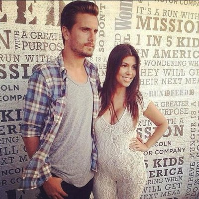Scott Disick and Kourtney Kardashian step out together in rare outing