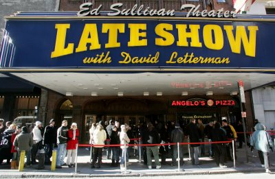 David Letterman sued by ex-intern