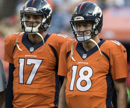 Brock Osweiler starts again; Manning has foot checked out