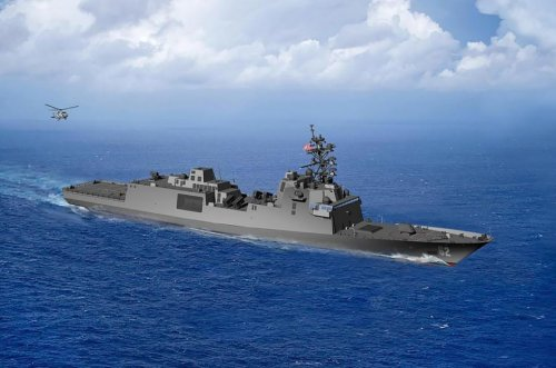 Navy's second guided missile frigate to be named USS Congress