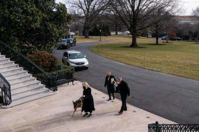 Biden family dogs Champ and Major move into White House