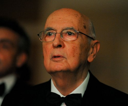 Italian President Napolitano resigning, retiring