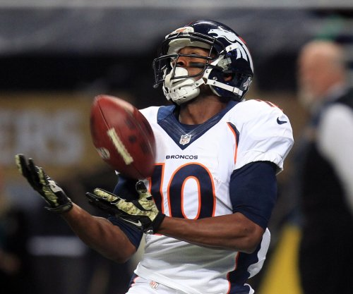 Broncos WR Emmanuel Sanders out vs. Bears