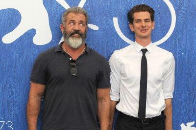 Mel Gibson, Teresa Palmer, Andrew Garfield attend 'Hacksaw Ridge' premiere in Venice