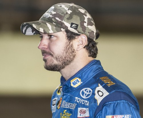 Martin Truex tops Joey Logano for pole at Martinsville