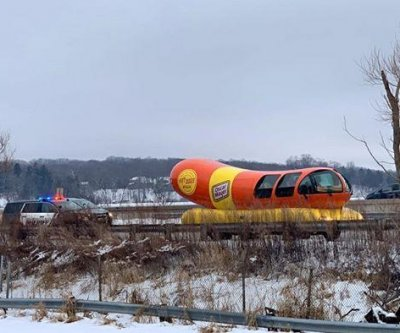 Wienermobile stopped for traffic violation in Wisconsin