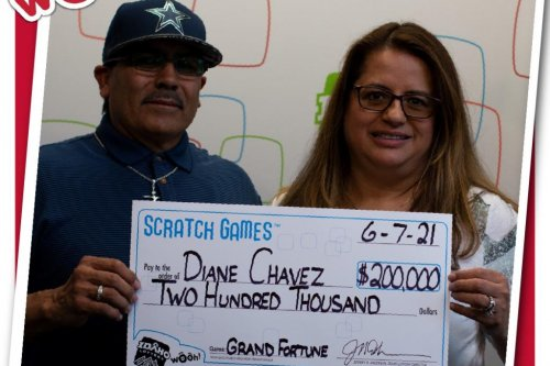 Idaho couple win two lottery jackpots in two years