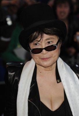Yoko Ono donates $55K to storm victims