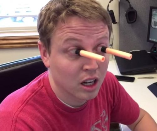 Idaho man sticks Nerf darts to his eyes in viral video