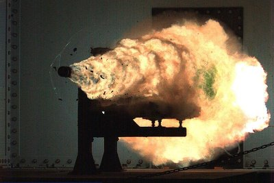 Mystery contract for electromagnetic railgun project