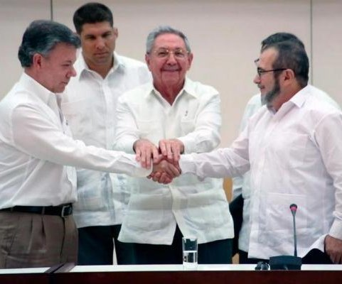 Colombia, FARC rebels sign historic peace deal to end 52 years of civil war