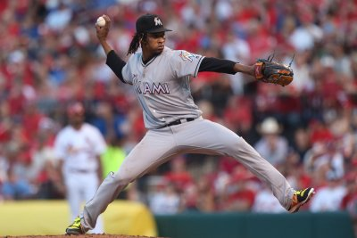 Jose Urena pitches gem, Miami Marlins two-hit Washington Nationals