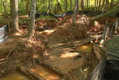 Century-old ship found buried in North Carolina