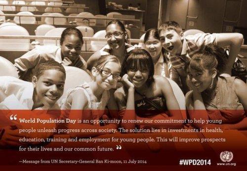 World Population Day observed on July 11