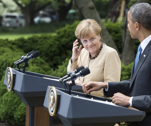 German Chancellor Angela Merkel to meet with Obama