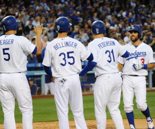 Los Angeles Dodgers start with a grand slam and keep going