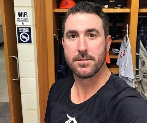 Justin Verlander trolls media, says he's still with Detroit Tigers