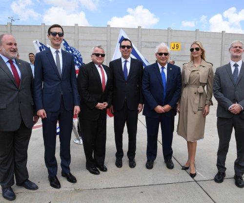 U.S. delegation arrives in Israel ahead of Jerusalem embassy opening