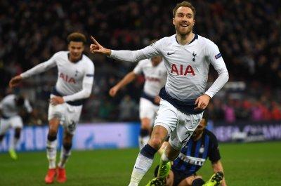 Champions League: Tottenham's Eriksen beats Inter Milan with late goal