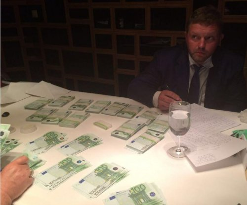 Governor of Russian region detained on suspension of taking bribe