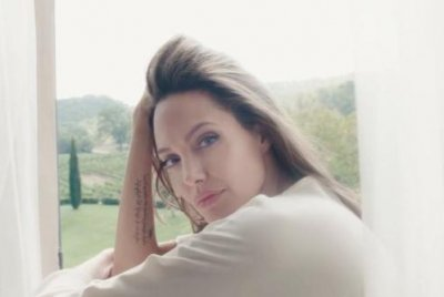 Angelina Jolie says late mom inspired Guerlain campaign