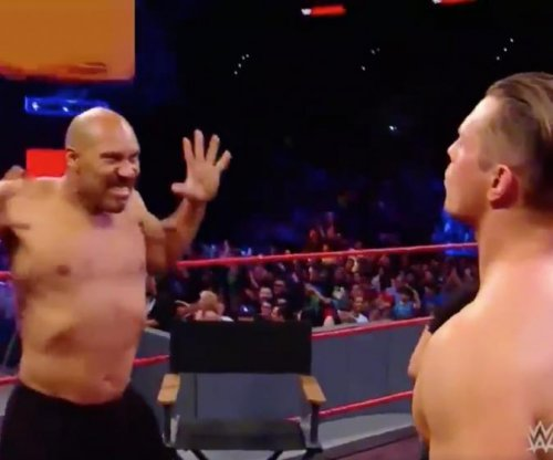 LaVar Ball, Lonzo Ball take on WWE's Monday Night Raw