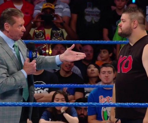 WWE Smackdown: Kevin Owens assaults Vince McMahon