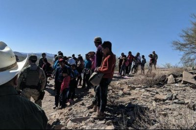 U.S. Border Patrol rescues 57 migrants stranded in Arizona desert