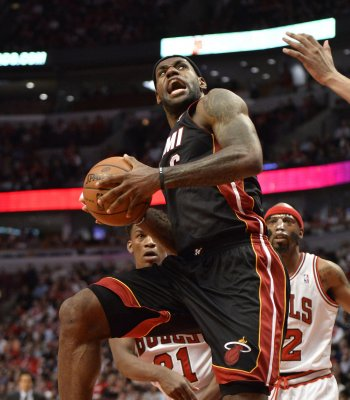 NBA: Miami 95, San Antonio 88