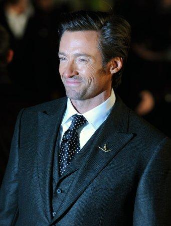 Jackman as Wolverine dons milk moustache