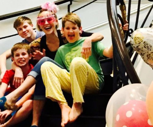 Sharon Stone shares rare photo with sons on 59th birthday