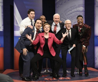 Lin-Manuel Miranda, Woody Harrelson appear in 'SNL' town hall parody