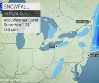 Developing nor'easter to unleash 1st blizzard of season in New England