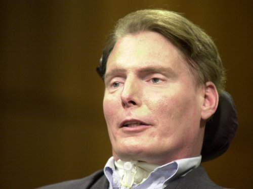 Christopher Reeve honored by son Matthew at NY Comic Con