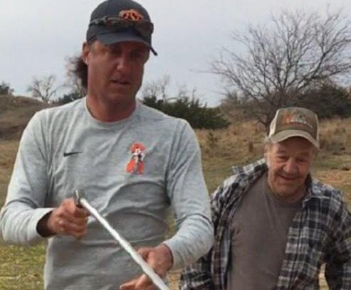 Rattlesnake hunting with 'Wild Bill' is so Mike Gundy