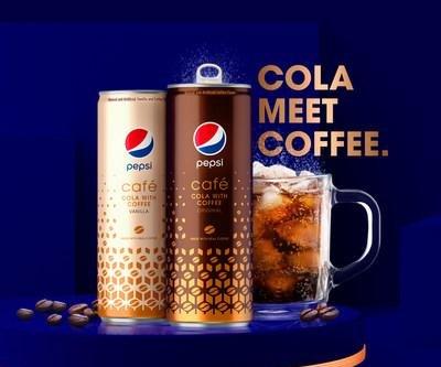 Pepsi unveils coffee-cola hybrid 'Pepsi Café'