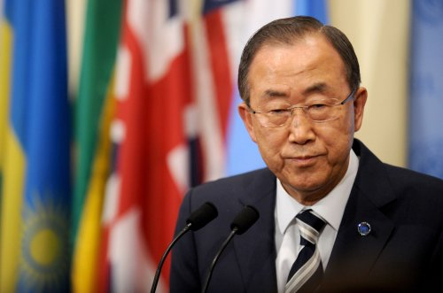 U.N. Secretary General Ban Ki-moon to join climate march