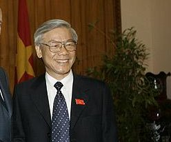 Vietnam party chief to visit United States